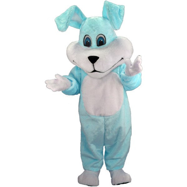 Super Blue Bunny Lightweight Mascot Costume