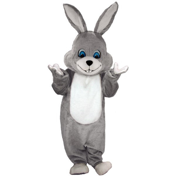 Grey Rabbit Lightweight Mascot Costume