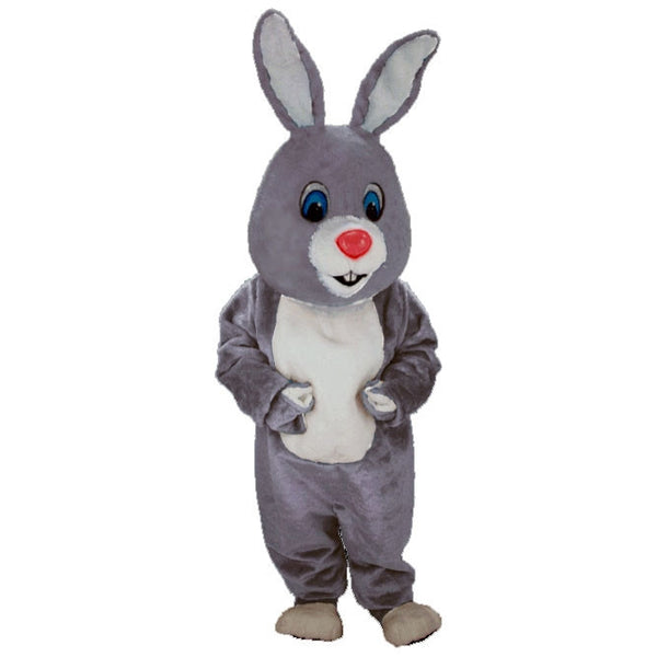 Light Grey Rabbit Lightweight Mascot Costume