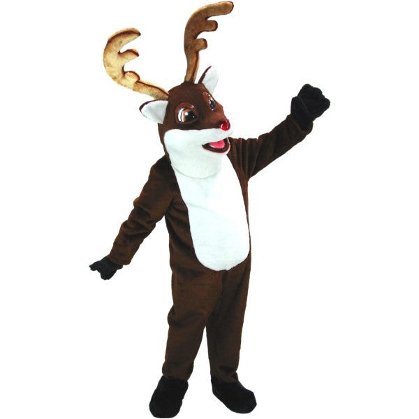 Rudy the Reindeer Mascot Costume