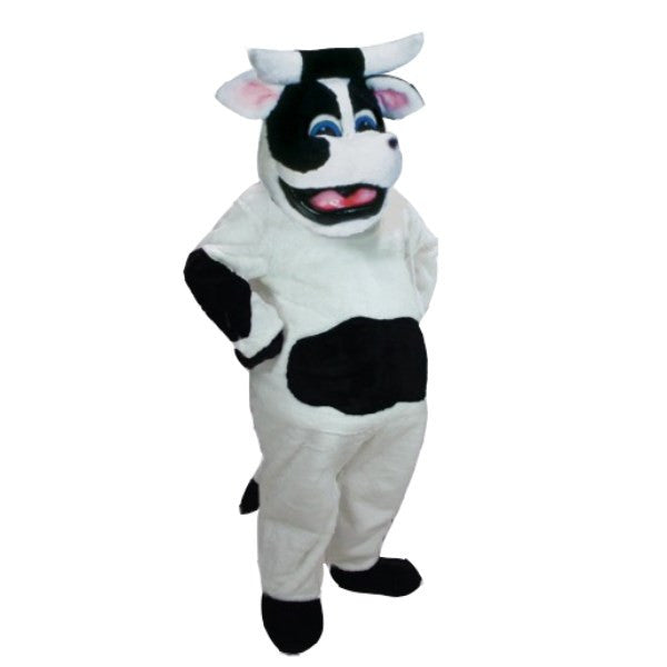 Bessie the Cow Mascot Costume