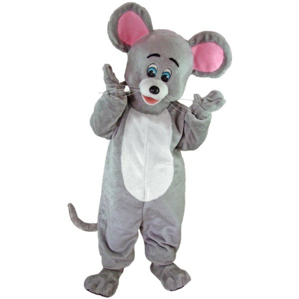 Grey Mouse Mascot Costume