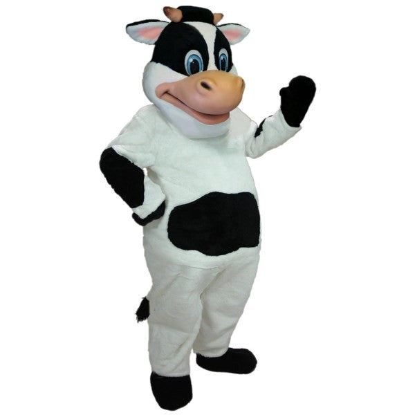 Betsy the Cow Mascot Costume