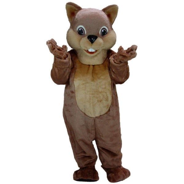 Chipper Chipmunk Mascot Costume