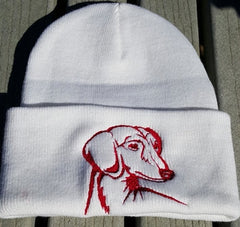 Dog Breed Knit Ski Hats