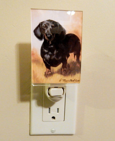 Dachshund (Black and Tan) Nightlight