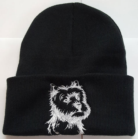 ee9a3320377 Westie Knit Ski Hat – Angels and Paws