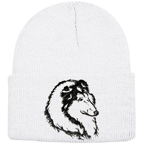 Collie Knit Ski Hat
