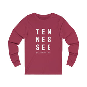 TEN-NES-SEE Long Sleeve Tee