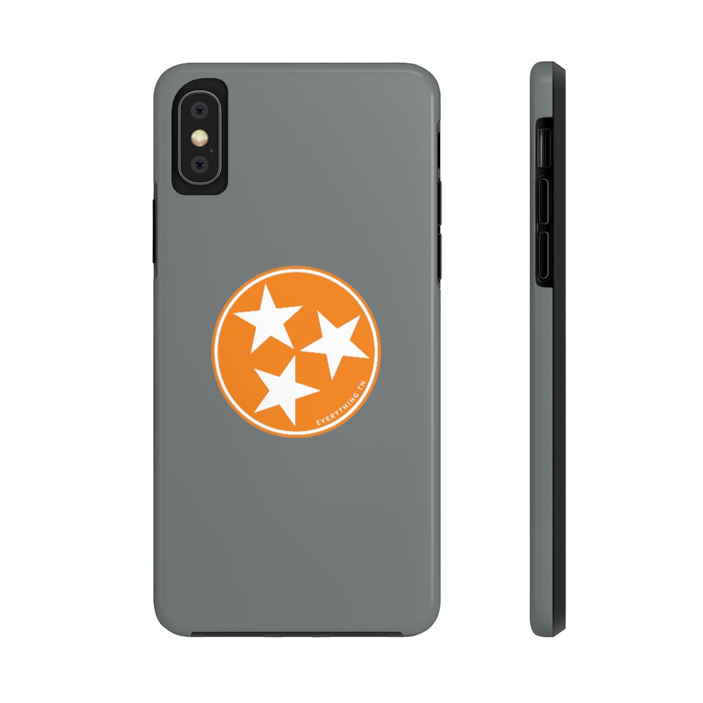 Orange Tristar Phone Case