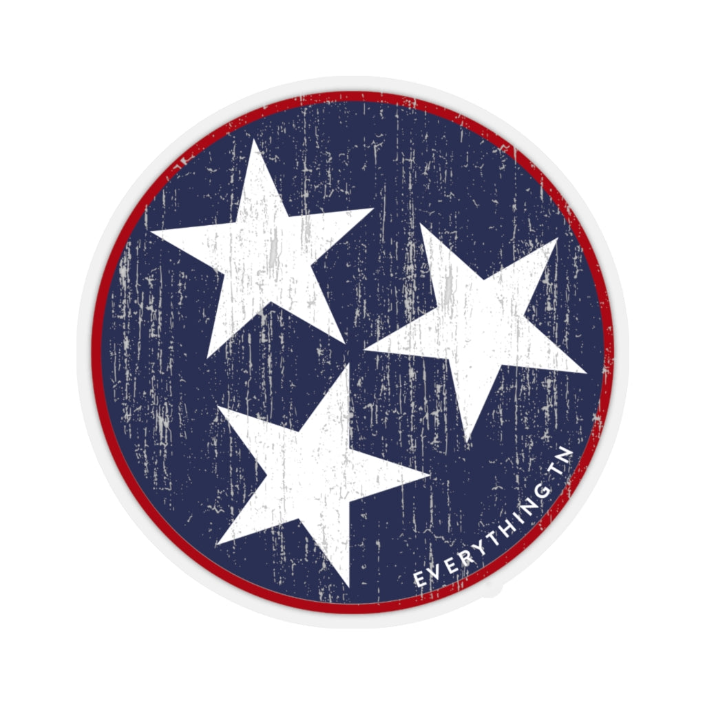 Traditional Tristar Sticker