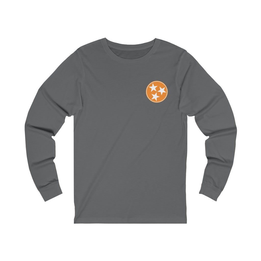 Orange Tristar Long Sleeve