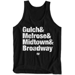 Gulch & Melrose & Midtown & Broadway Tank-Top