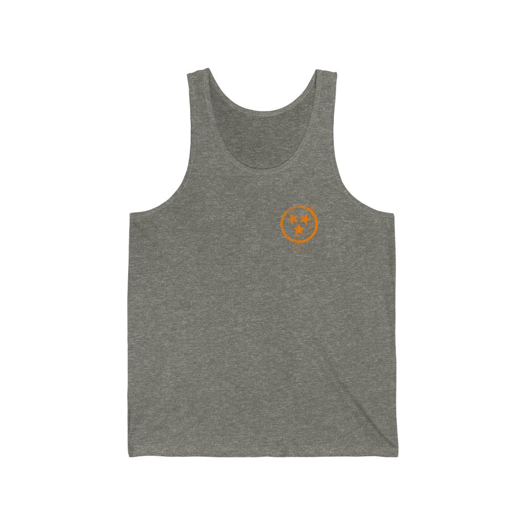Bleed Orange Tank