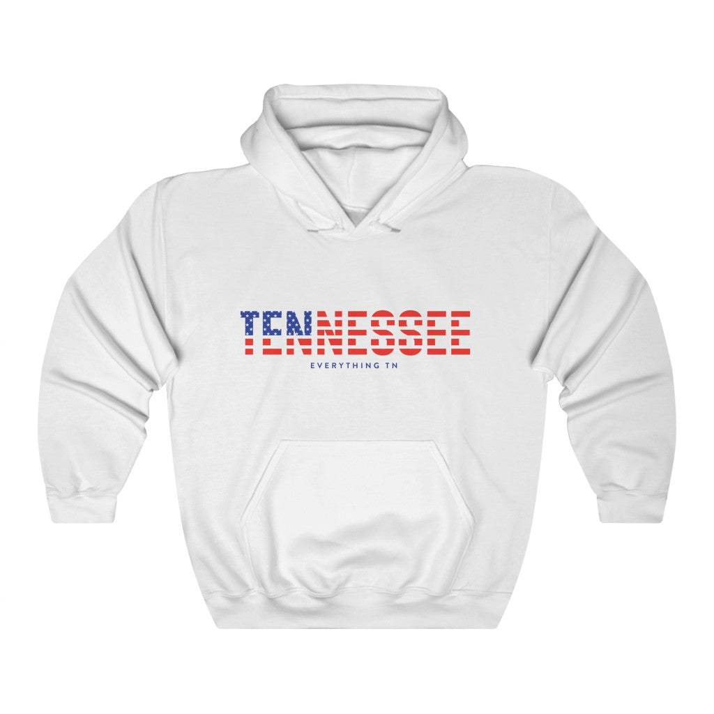 Red, White, & Blue Tennessee Hoodie