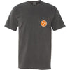Orange Tristar Pocket Tee - Comfort Colors