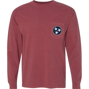 Tristar Pocket Tee - Comfort Colors Long Sleeve