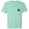 Mint Tristar Pocket Tee - Comfort Colors (Short Sleeved)