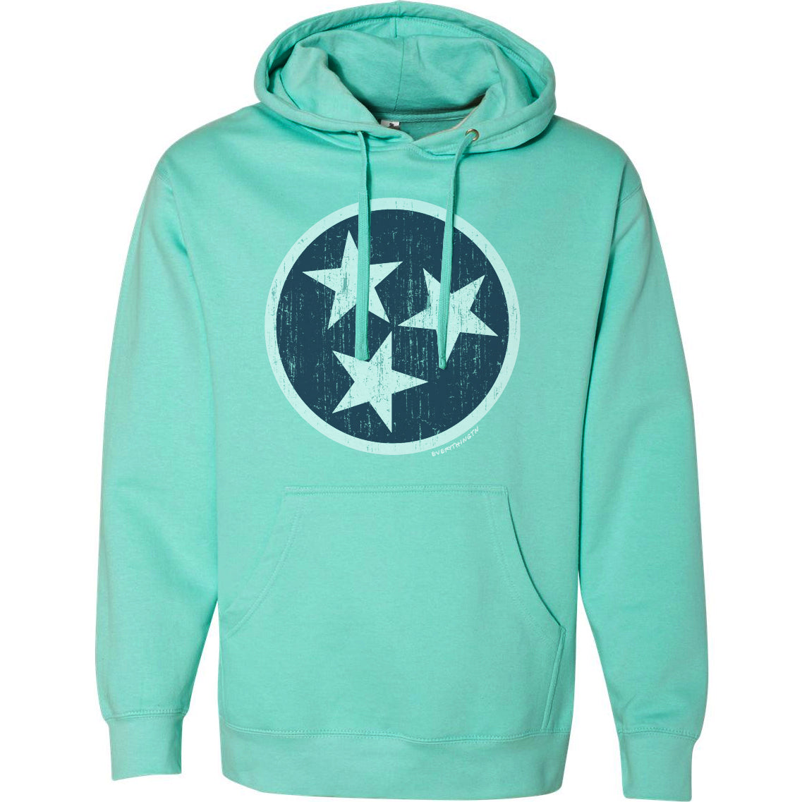 Traditional Tristar Hoodie - Mint