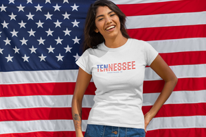 Red, White, & Blue Tennessee Tee