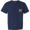 Nashville Catfish/Hockey Pocket Tee - Comfort Colors