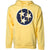 Traditional Tristar Hoodie - Yellow/Gold