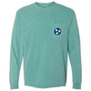 Seafoam Tristar Pocket Tee - Comfort Colors Long Sleeve