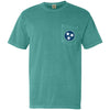 Seafoam Tristar Pocket Tee - Comfort Colors (Short Sleeved)