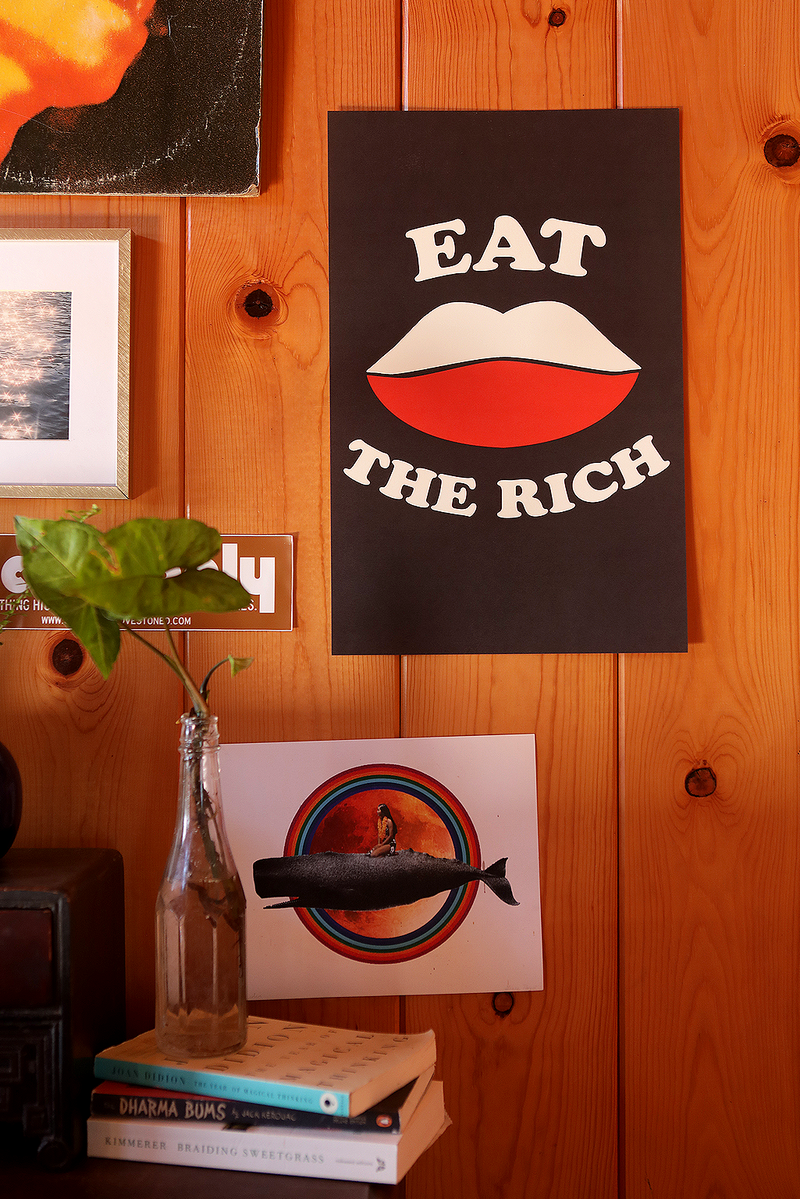 Eat the Rich ~ Poster