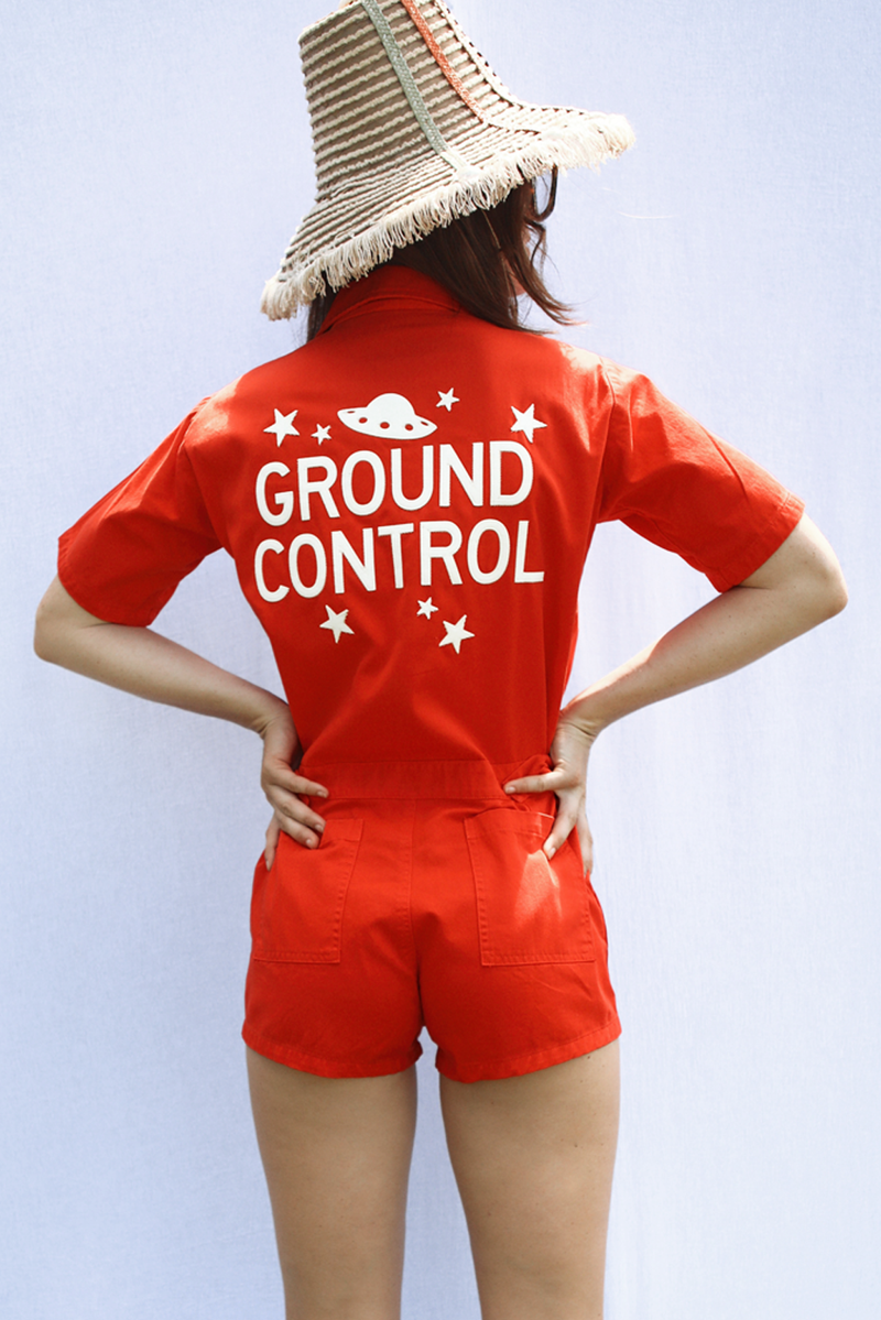 Ground Control Romper