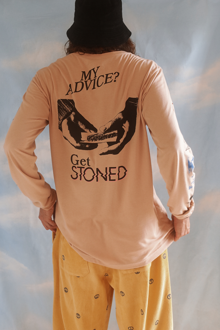 Need Advice? longsleeve tee ~ dune