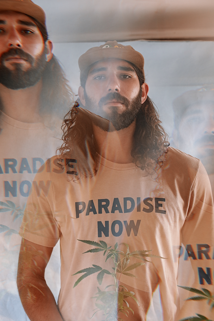 Paradise Now shortsleeve tee ~ dune