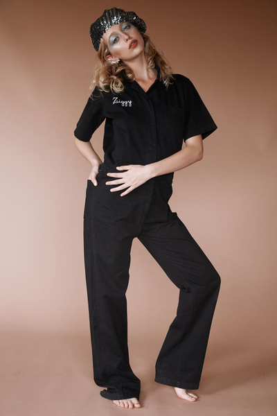 Stardust Coveralls ~ Black