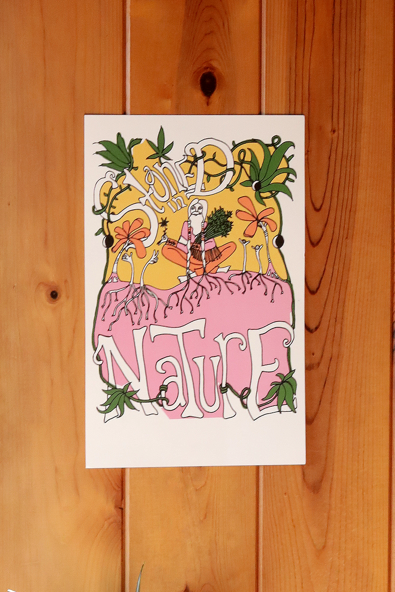 Stoned In Nature ~ Poster