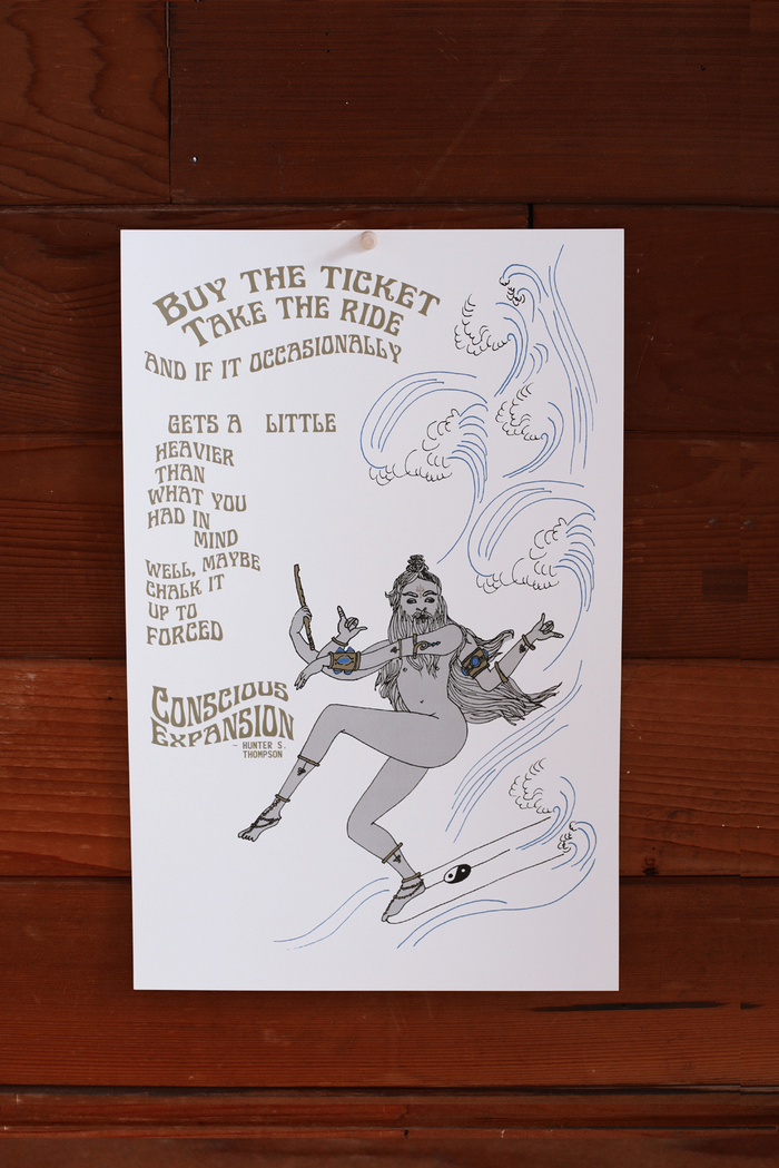 Buy the Ticket, Take the Ride ~ Poster