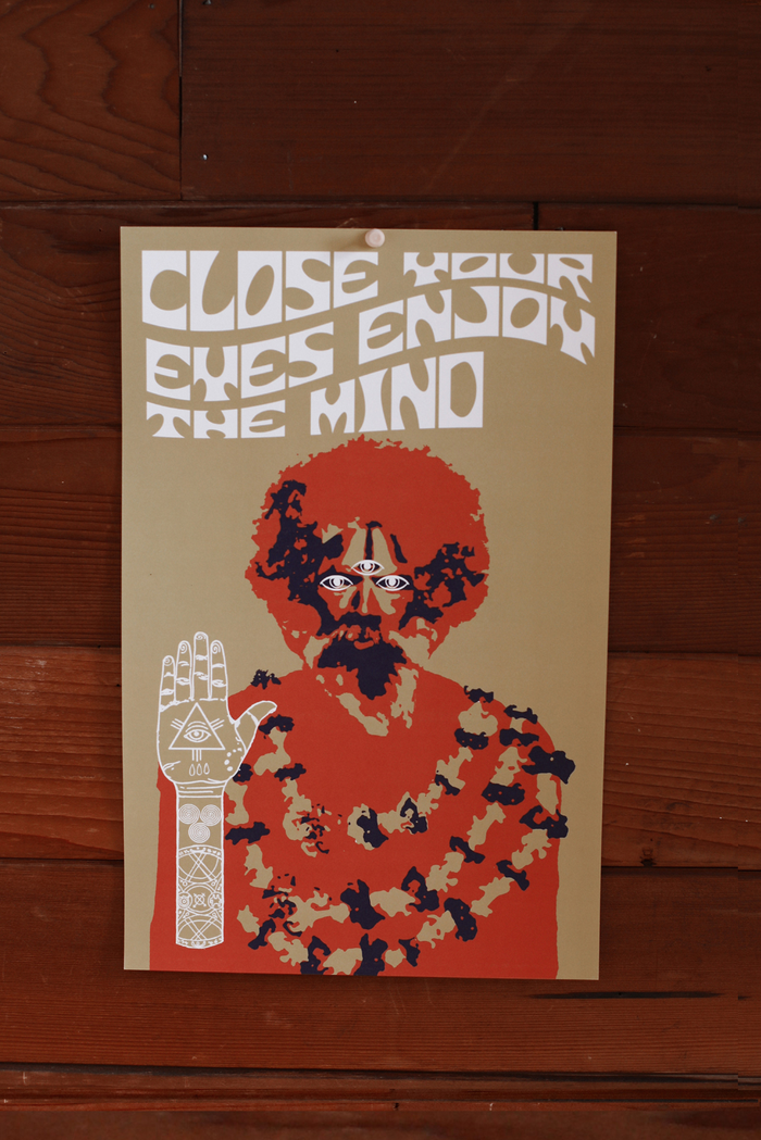 Close Your Eyes, Enjoy The Mind ~ Poster