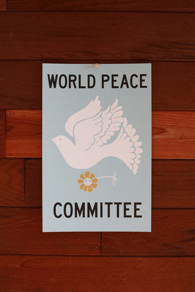 World Peace Committee ~ Poster