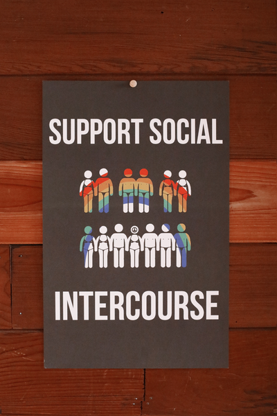 Support Social Intercourse ~ Poster