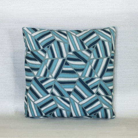 Blue Mica PIllow - Large