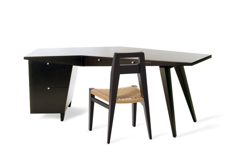 Modern furniture - Large Desk in black