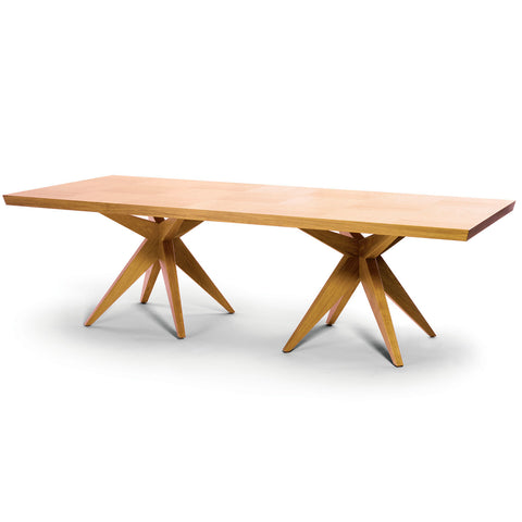Double Bonfire Dining Table