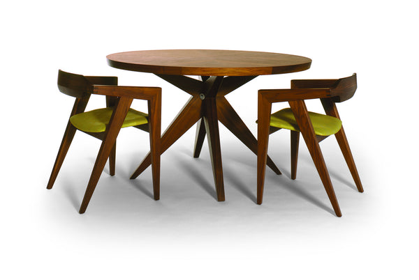Round Bonfire Dining Table