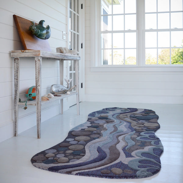 Harbor / Stream - 3 x 8 ft runner - Sale