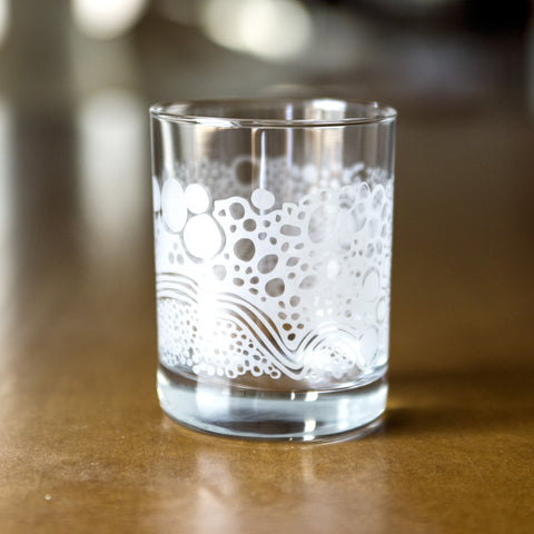 "Glass ""Rocks"" Tumblers"