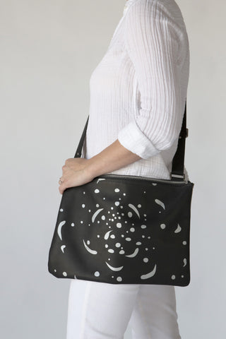 Cosmic - Leather Shoulder Bag