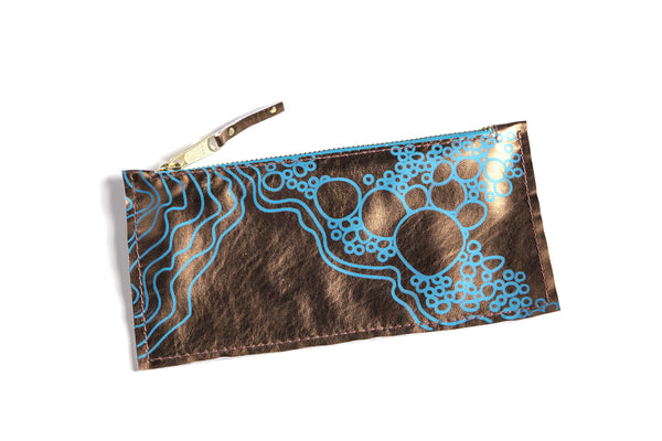 Nebula - Leather Clutch