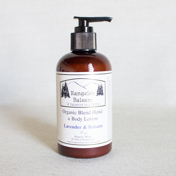 Rangeley Balsam Organic Lotion