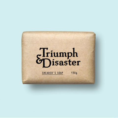 Triumph and Disaster Shearers Soap