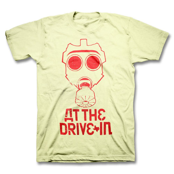 Gas Mask Outline T-shirt - At The Drive In Official Store - 1