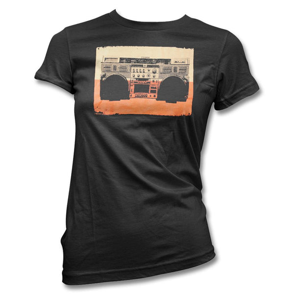 Ghetto Blaster T-shirt - Women's - At The Drive In Official Store - 1
